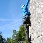 Klettern im Fels